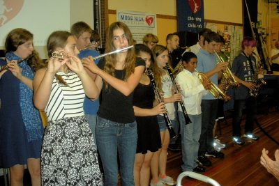 High School Band Performs at 2014 Charity Auction and Dinner