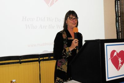 Monica Isbell President of Mudd Nick Foundation at 2017 Fundraising Event